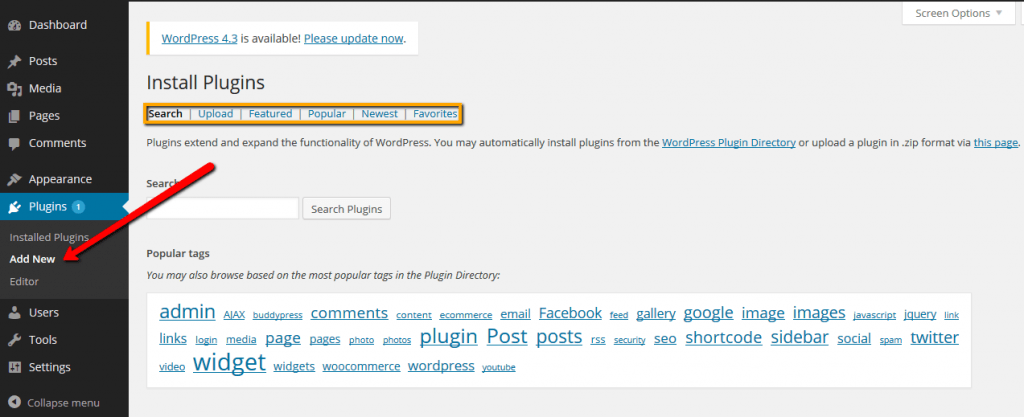 Cara Instal, Update dan Hapus Plugin Blog WordPress