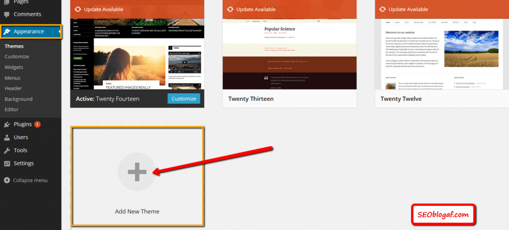 Cara Mudah Instal Theme Baru Pada Blog WordPress