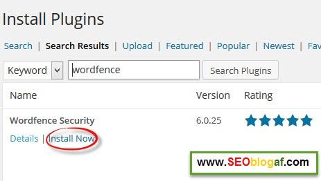 Cara Setting Plugin Wordfence untuk Mengamankan Blog WordPress