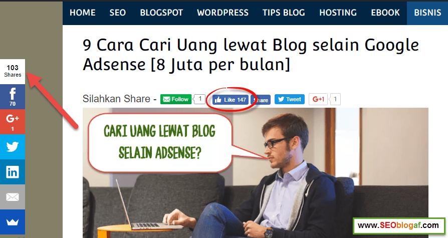 konten viral agar diklik pengunjung