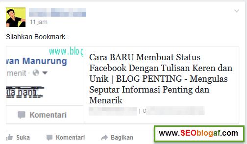 promosi facebook yang salah
