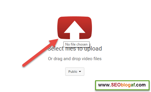 Upload video ke youtube