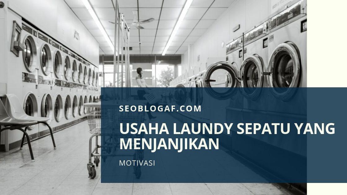 Usaha Laundry Sepatu Menembus Pasar Luar Negeri