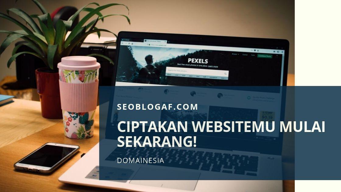 Ciptakan Websitemu dengan DomaiNesia